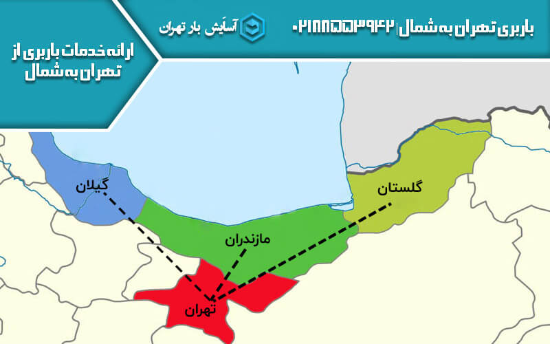 باربری تهران به شمال